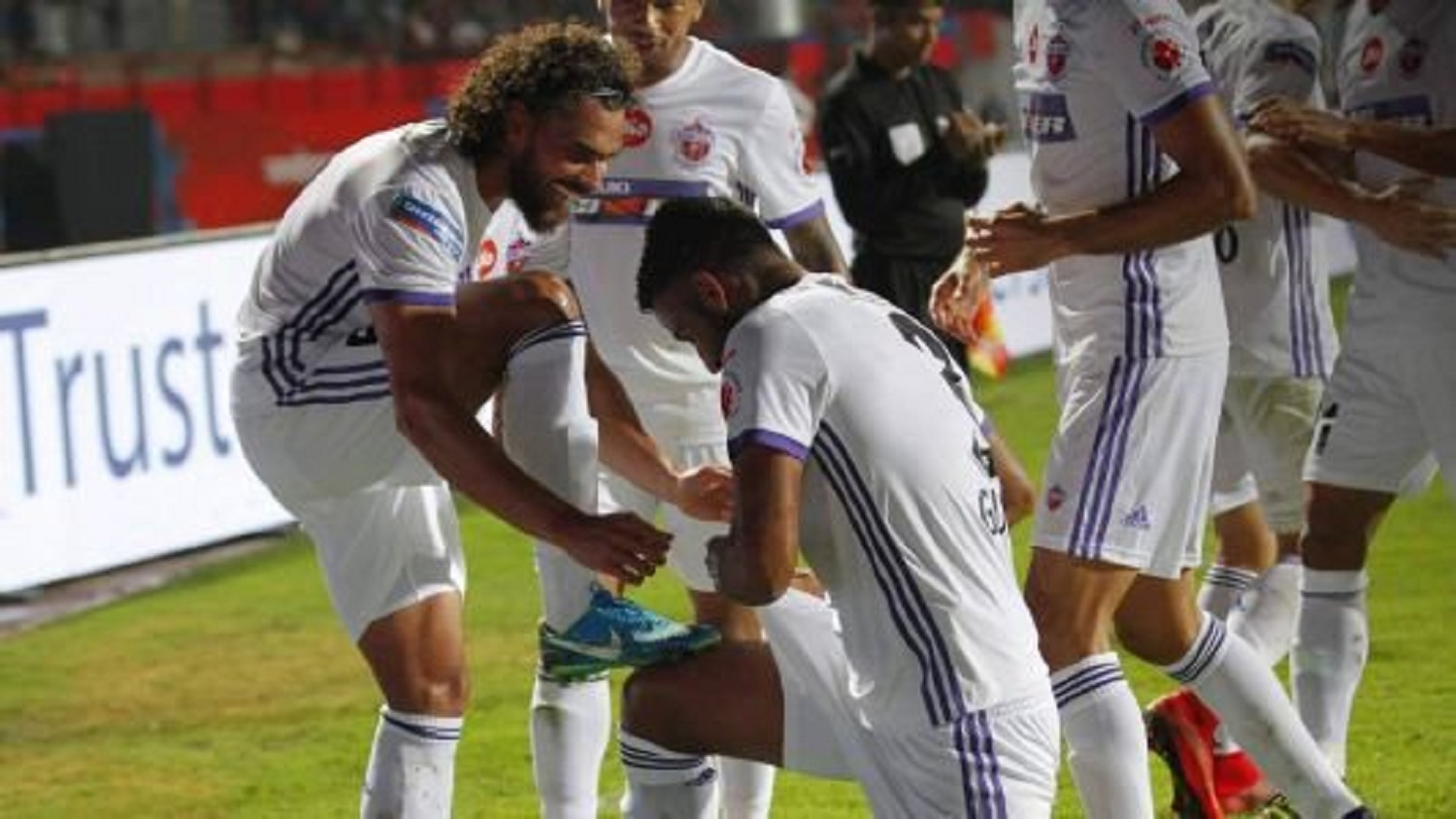 Adil Khan, apart from being one of the key members in defence, has also contributed with goals for FC Pune City | Image credit: ISL