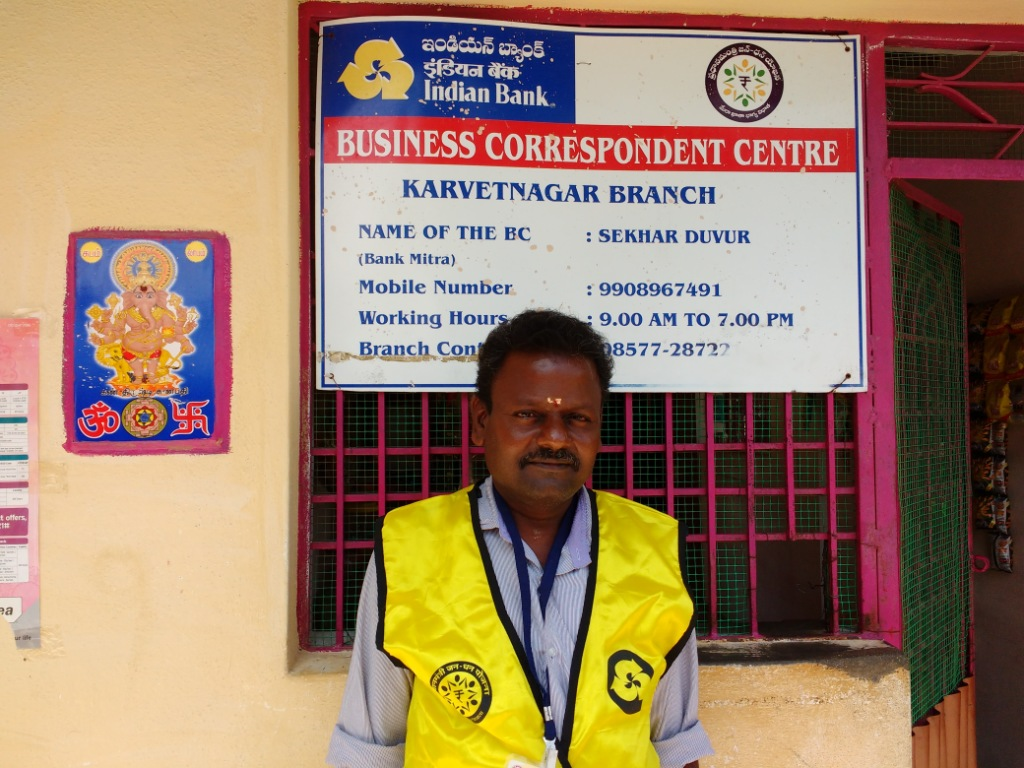 Business correspondents like Shekhar Duvur have a vital role in easing post-demonetisation rural distress.