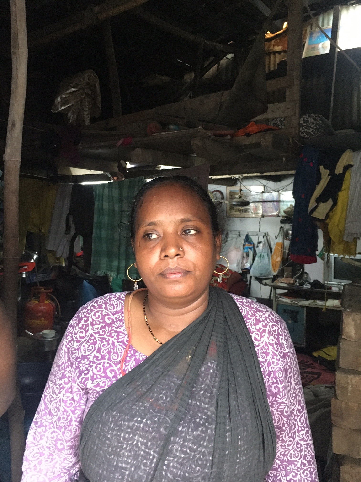 Shabnam Qureshi who lives in the Indira Nagar slum in Govandi. (Photo: Priyanka Vora)