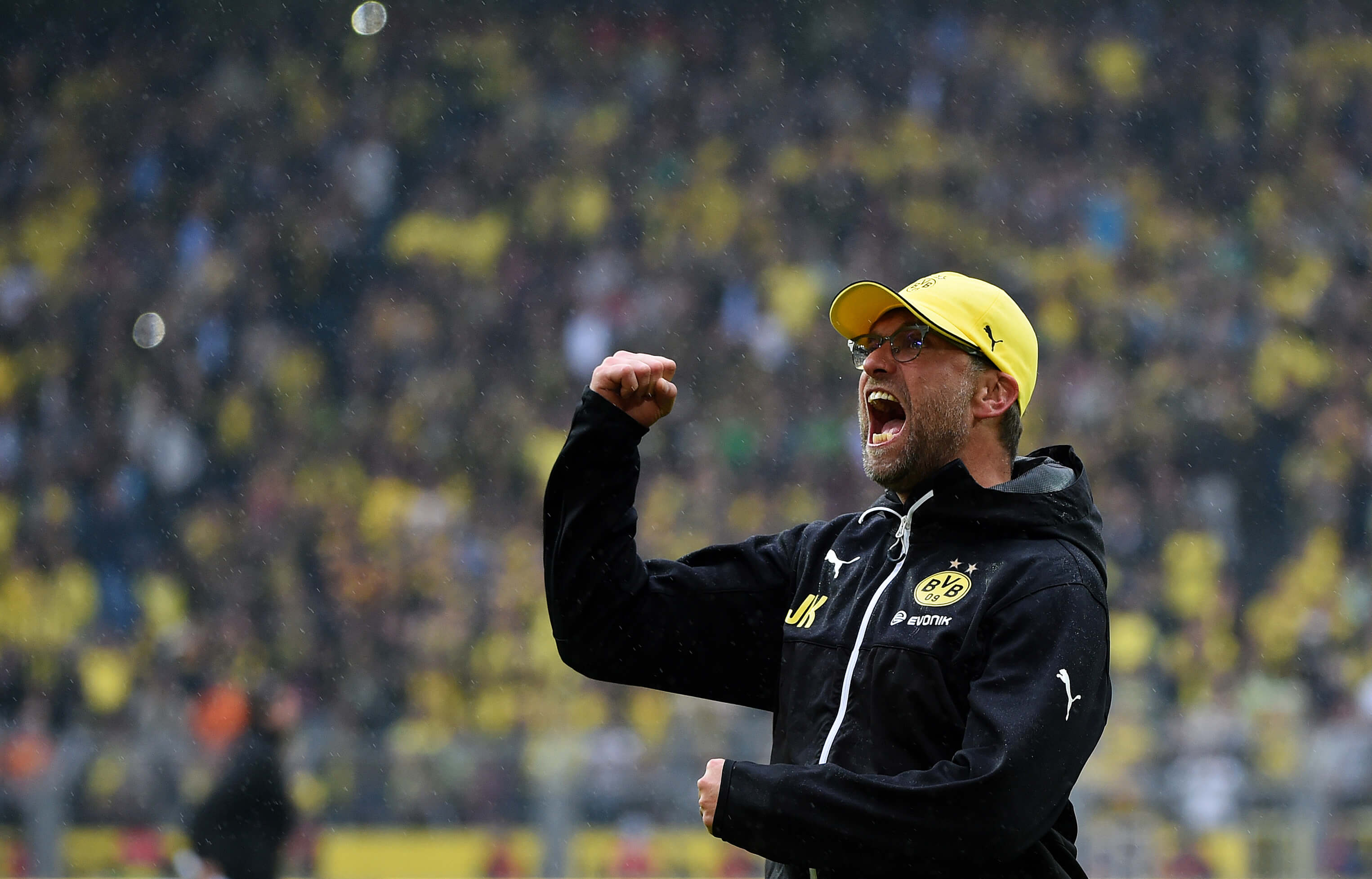Jurgen Klopp's Gegenpressing style had its foundations in Dortmund youth (Image: AFP)