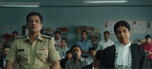 Pankaj Saraswat and Mita Vashisht in Criminal Justice (2019). Courtesy BBC India/Applause Entertainment/Hotstar.