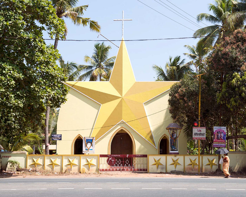 St Joseph's Church in Thuravoor, Kerala. Photo credit: Stefanie Zoche and Sabine Haubitz.