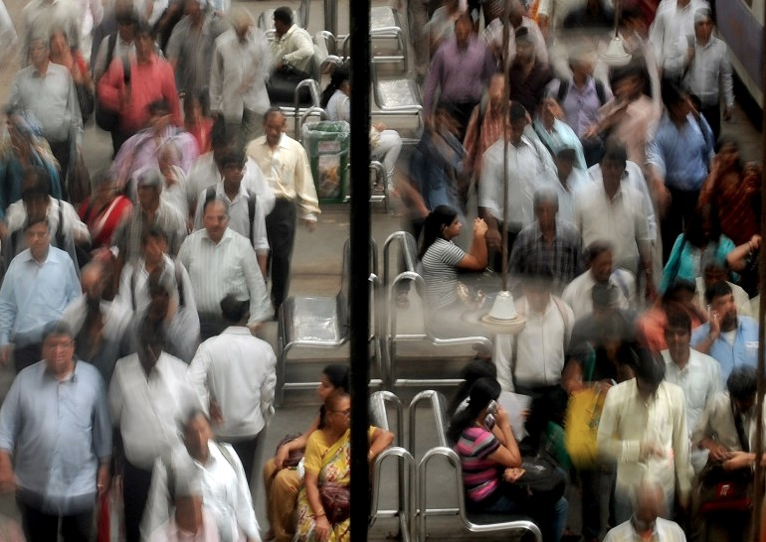 The focus on population growth distracts from the real problem of consumption. (Credit: Punit Paranjape / AFP)
