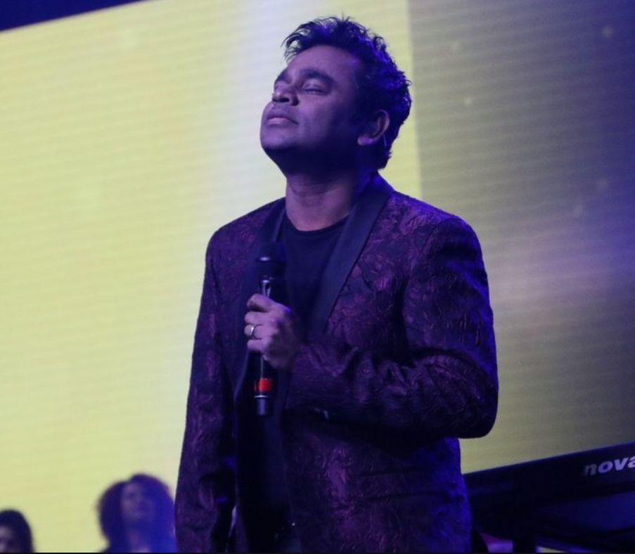 AR Rahman at the Jammin Live concert.