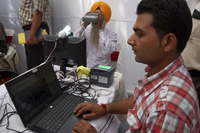 The Unique Identification Authority of India has made it mandatory for agencies to start using Virtual ID by June 1. (Credit: Narinder Nanu / AFP)