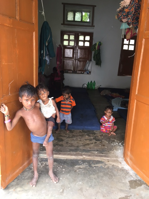 The Nutrition Rehabilitation Centre in Malkangiri where children sleep on floors instead of on cots. Credit: Priyanka Vora.