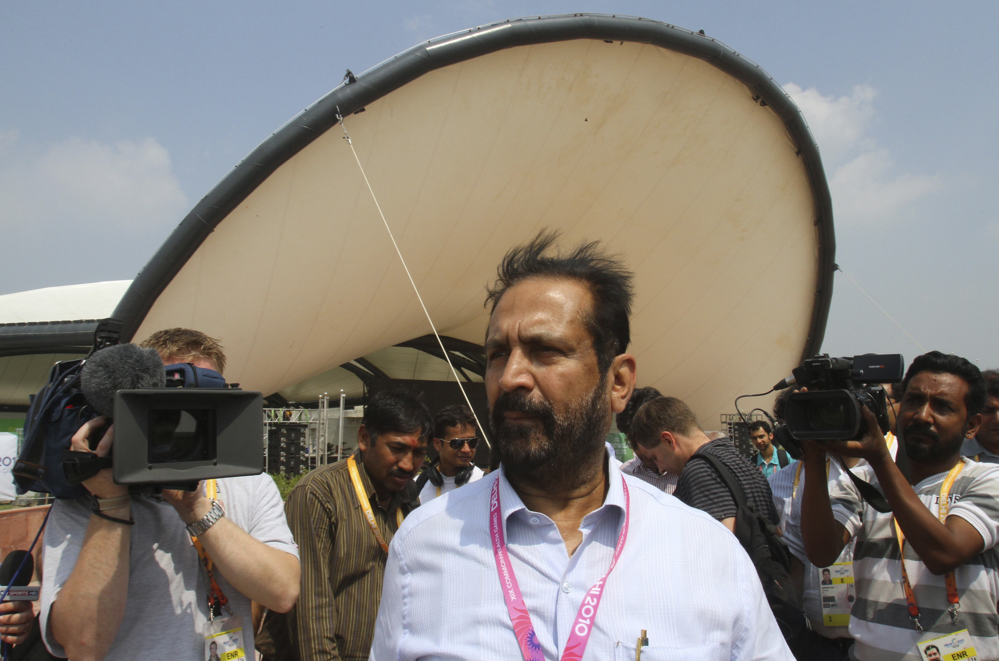 Suresh Kalmadi was implicated in one of the biggest scams to ever hit Indian sport (Image credit: Reuters)