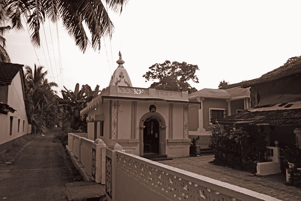 A Saraswati Temple in Uskai, Goa. Courtesy: Archives of Bodhana Arts and Research Foundation