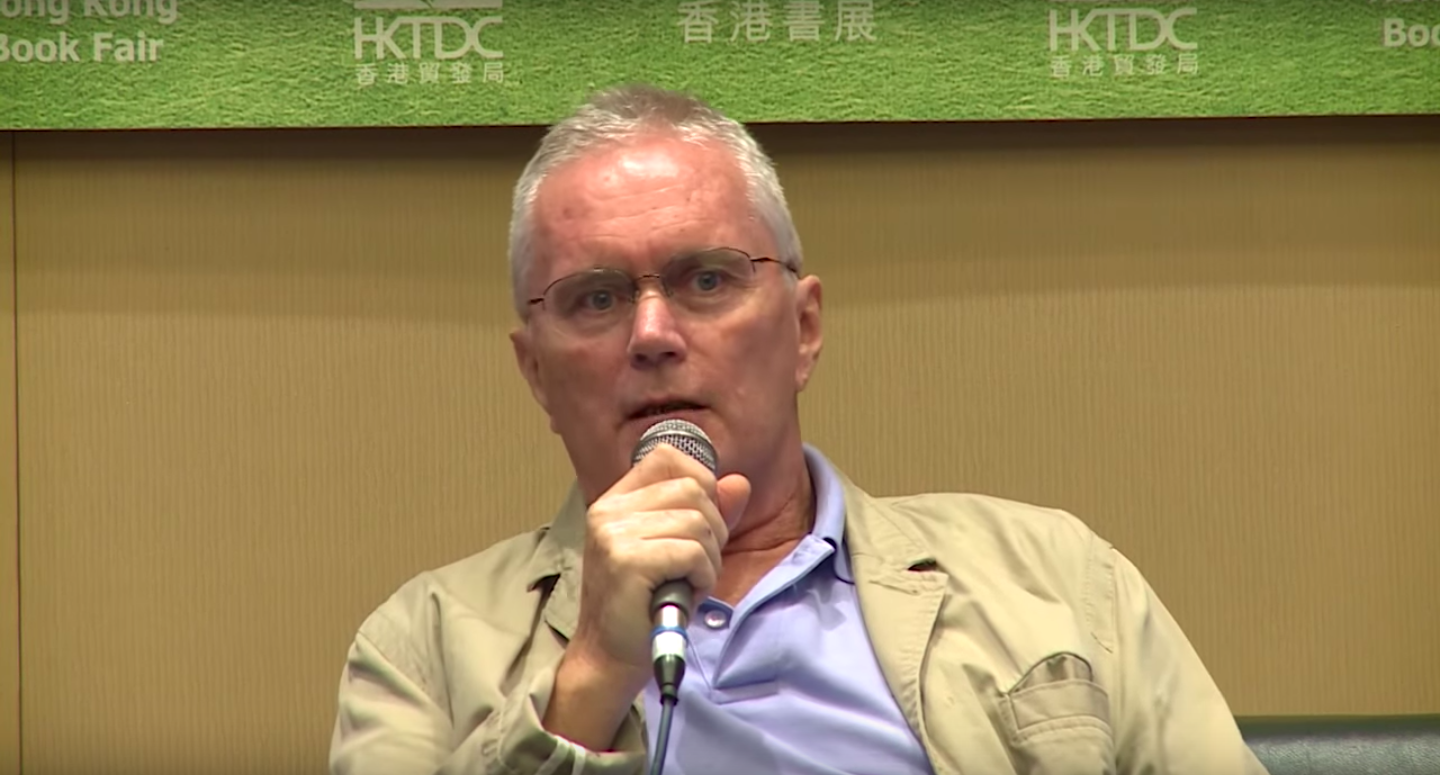 John Burdett | HKTDC via YouTube