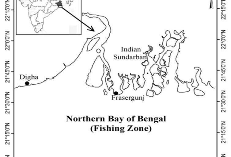 Study area map. Photo Credit: Isha Das