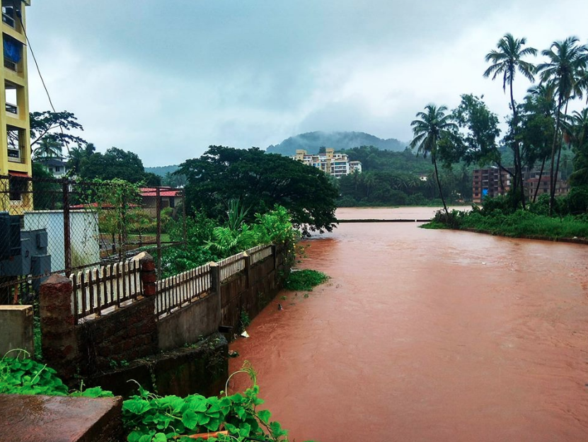 In the past month, Goans have flooded social media with images of inundated homes. (Credit: Goa Speaks / Facebook)