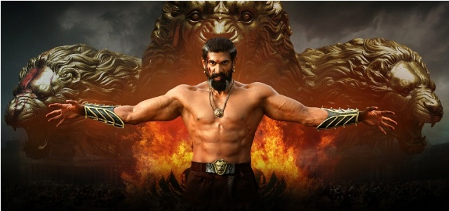 Rana Daggubati in Baahubali 2: The Conclusion. Courtesy Arka Media Works.