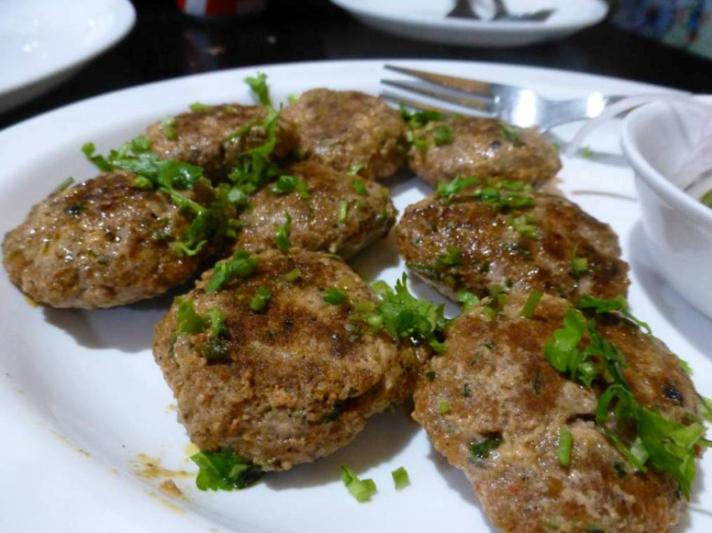Chapli kebabs. Photo credit: Sarhad/Facebook