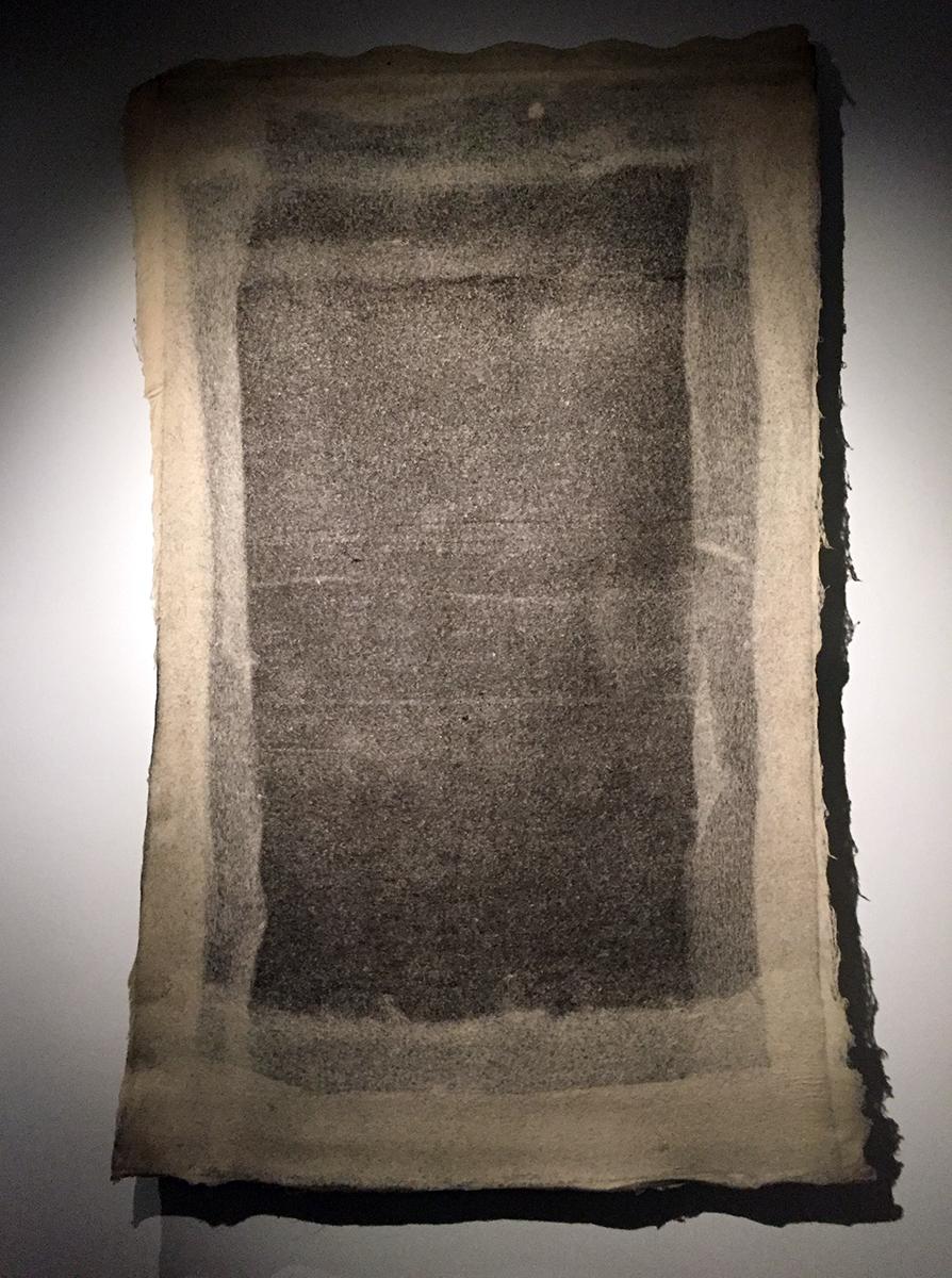 """Ombre"" (2006-07) is a minimalist woollen rug by Jigisha Patel. Photo credit: Chanpreet Khurana"