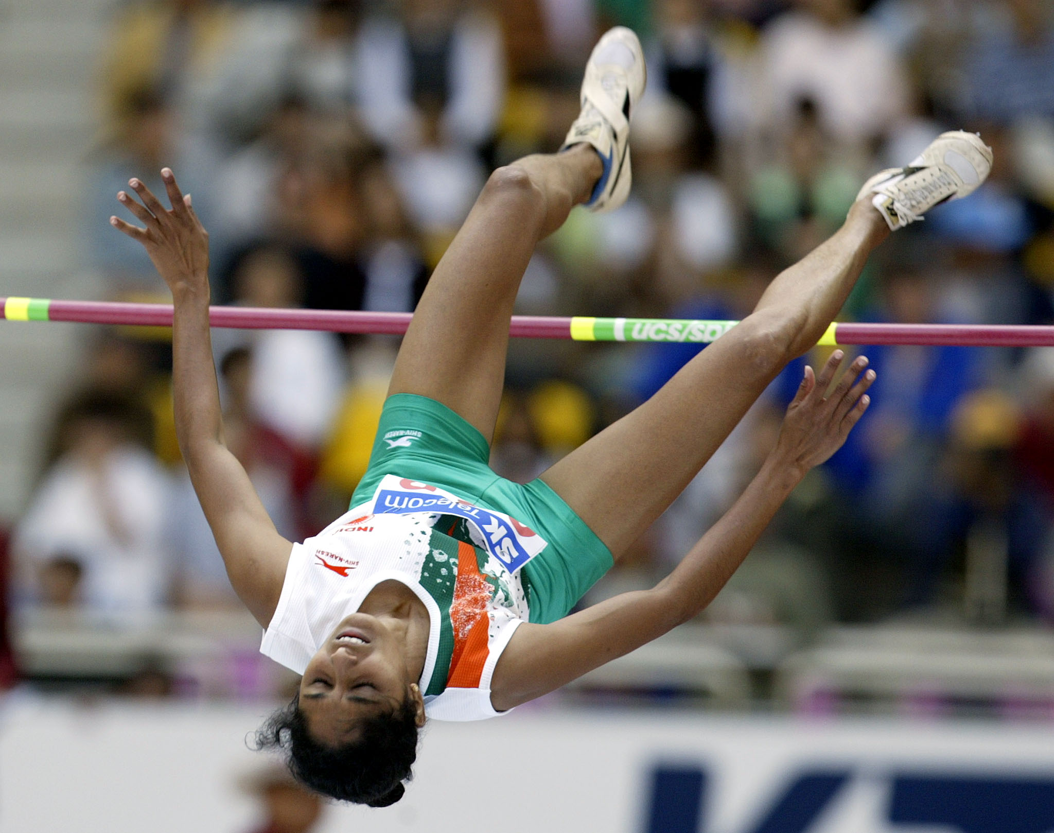 High Jumper Bobby Aloysius. Image Credit: Jason Reed / Reuters