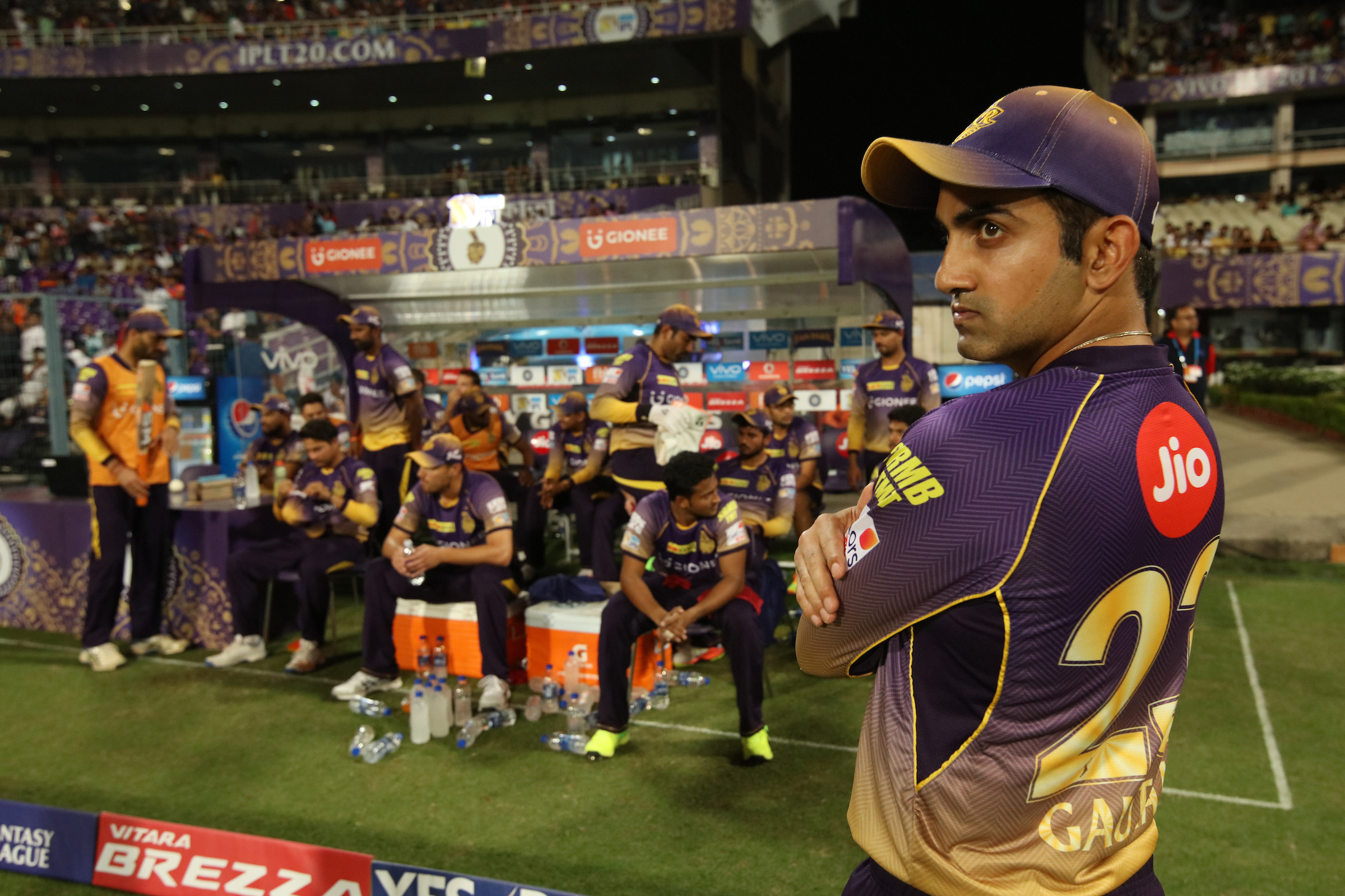 KKR decided not to retain captain Gautam Gambhir (Image: Saikat Das/Sportzpics/IPL)