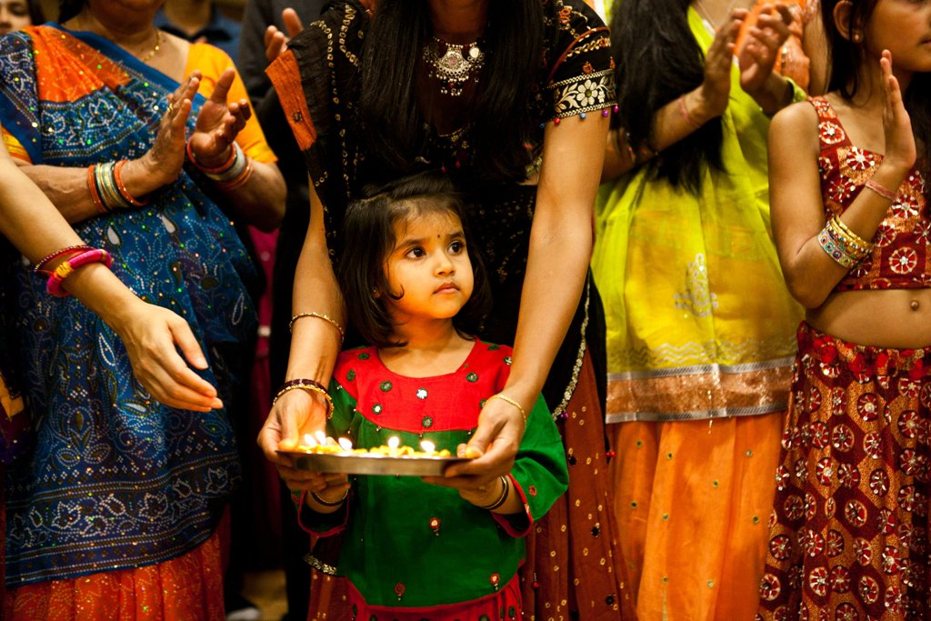 Vaisakhi, from the Migration Museum's '100 Images of Migration' exhibition © Kajal Nisha Patel.