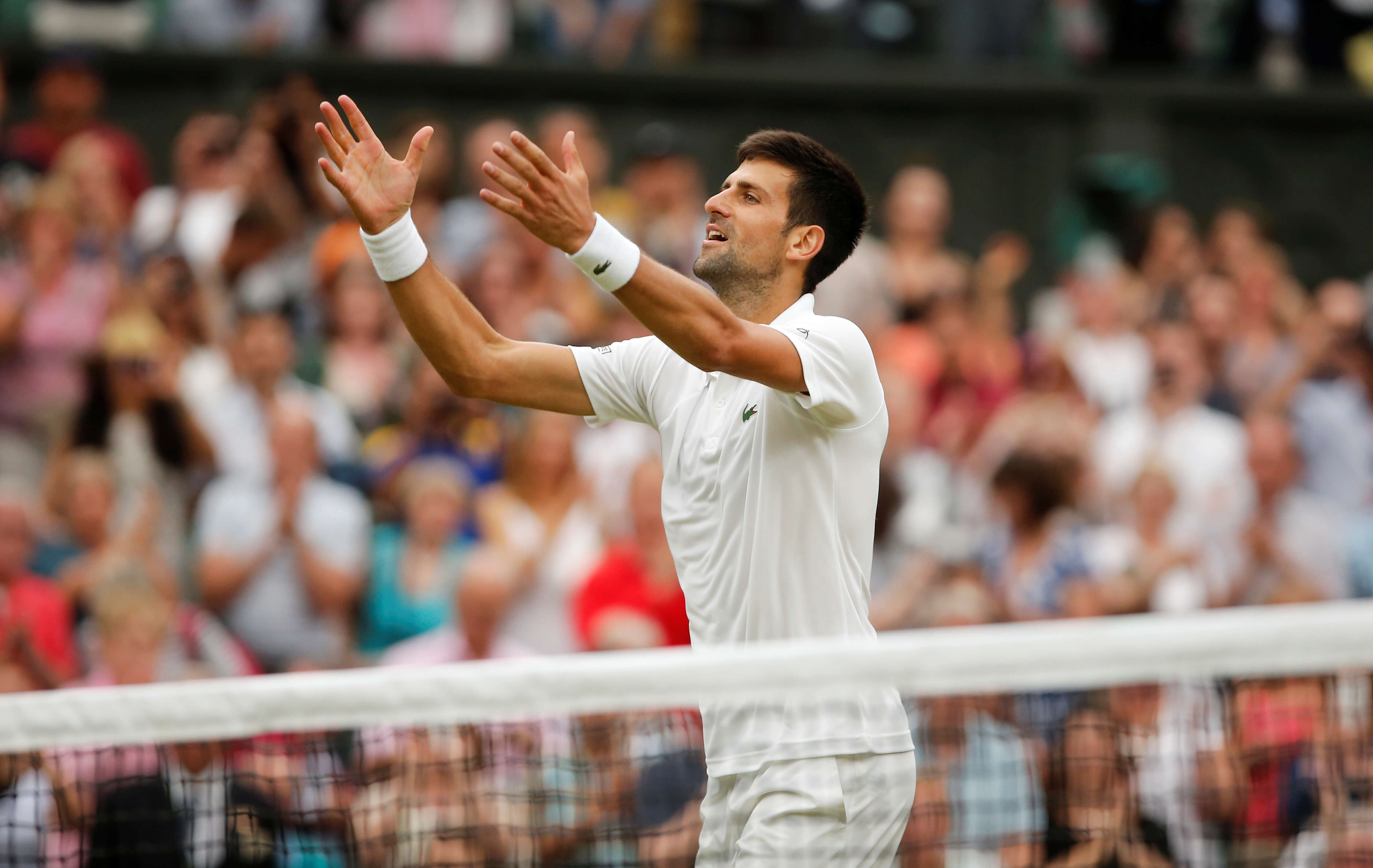 Novak Djokovic has won Wimbledon three times, the last time being in 2015 (Image: Reuters)