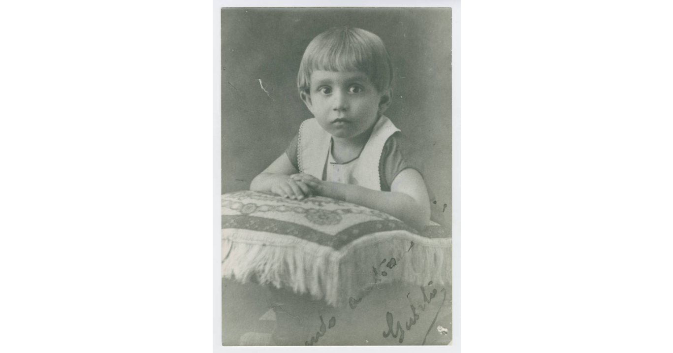 Gabriel Garcia Marquez as a child, 1929 (Harry Ransom Center at The University of Texas, Austin)