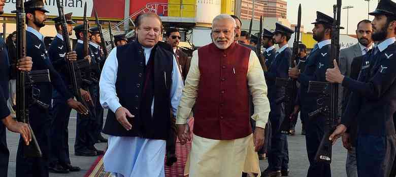 Narendra Modi made an unexpected visit to see Nawaz Sharif on Christmas Day, 2015.