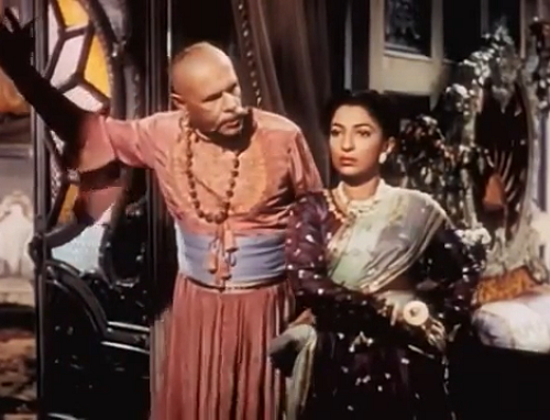 Sohrab Modi and Mehtab in Jhansi Ki Rani (1953). Courtesy Mehelli Modi.