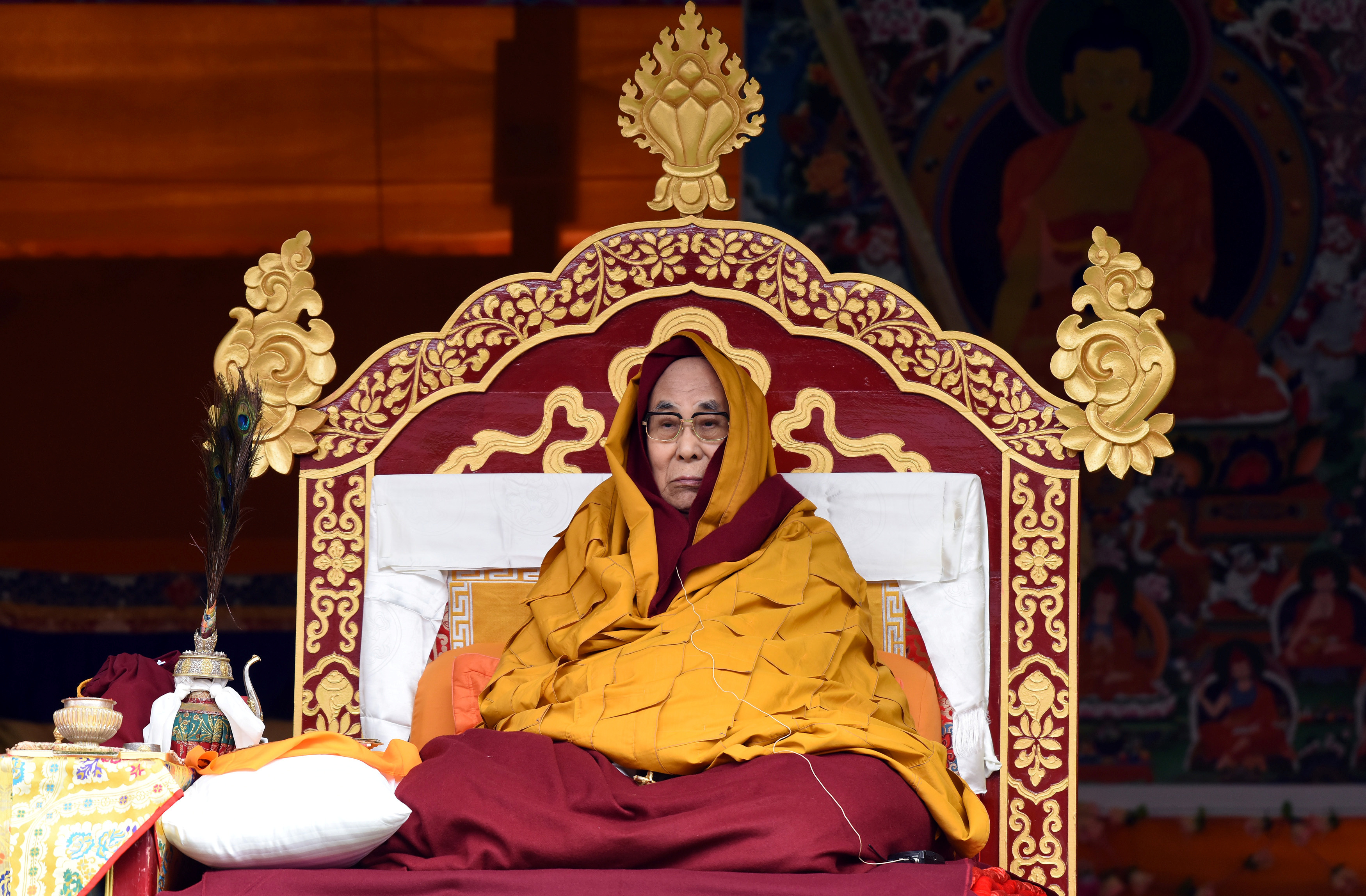 The Dalai Lama. Credit: Anuwar Hazarika/Reuters