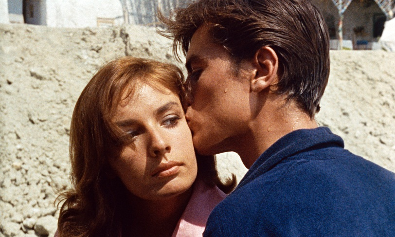 Alain Delon and Maria Laforet in 'Plein Soleil'.