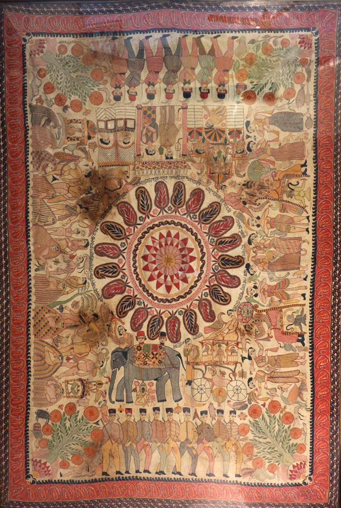 Sujni Kantha. 19th century. Khulna. Photo credit: Shrutakirti Dutta