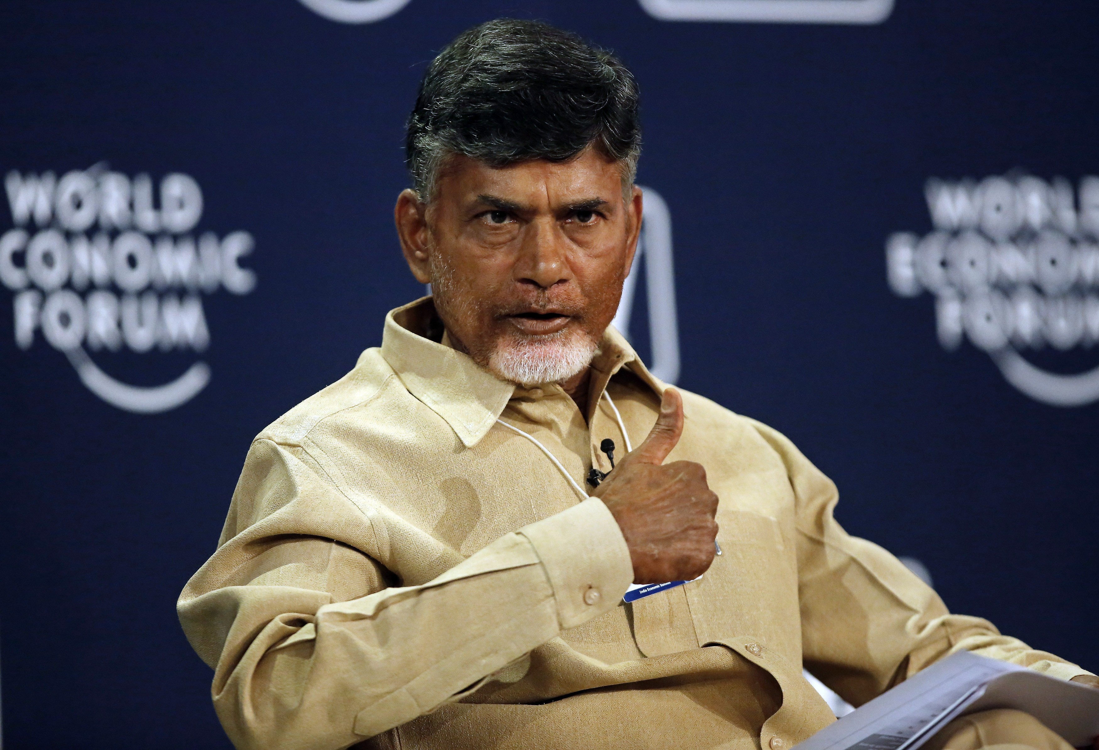 For the government complex in Amaravati that would house the Assembly, High Court and Secretariat, Chandrababu Naidu announced an open competition in which quality rather than budget would be paramount. (Credit: Reuters)