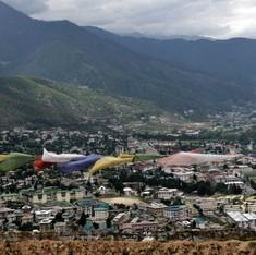 In Bhutan's capital, a building boom is choking the city's drains