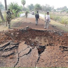 Seven CRPF personnel killed in landmine blast in Chhattisgarh's Dantewada district