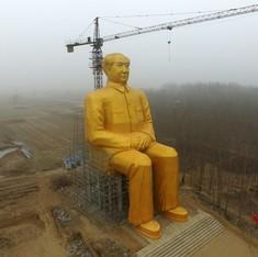 China destroys giant Mao statue worth 3 million yuan