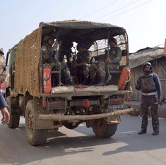 Pathankot attack: Sanitising operations on, defence minister leaves for air force base