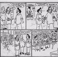 You know Aravindan the filmmaker? Meet Aravindan the cartoonist