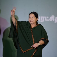 J Jayalalithaa sworn in as chief minister of Tamil Nadu