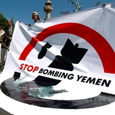 Airstrikes by Saudi-led coalition 'wrongly targeted' funeral in Yemen that killed more than 140
