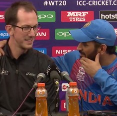 Video: 'Let's have some fun!': MS Dhoni turns interviewer to answer retirement question