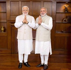 When Modi brought back Modi to India: Why Twitter is going gaga over a wax statue
