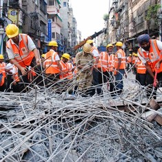 Kolkata flyover collapse: Toll rises to 27, BJP attacks Rahul Gandhi for his 'photo op'