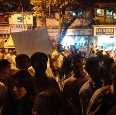 Ten injured in attack on rally for Rohith Vemula in Mumbai