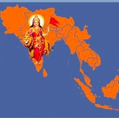 Far from being eternal, Bharat Mata is only a little more than 100 years old