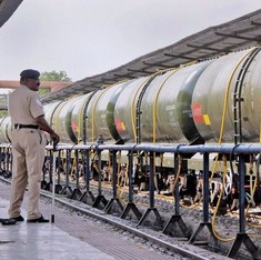 Was the water train empty? Never mind, it made Bundelkhand trend on Twitter