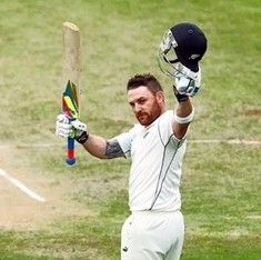 Watch: Brendon McCullum signs off with the fastest-ever Test century in his final match