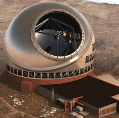 The 'Thirty Meter Telescope', proposed to be the world's largest, might be set up in India: TOI
