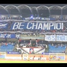 Video: Bengaluru FC are Indian football champions and their fans made it an occasion to remember