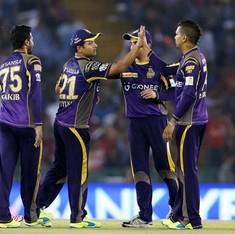 IPL: Kolkata Knight Riders go top after thrashing Kings XI Punjab by six wickets
