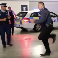 Watch: why are police forces around the world dancing to a 1995 song and challenging one another?