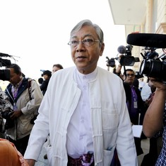 Aung San Suu Kyi's aide Htin Kyaw sworn in as Myanmar President
