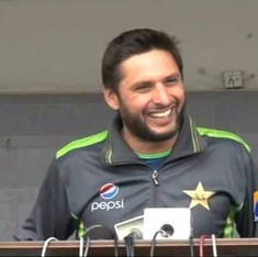 Shahid Afridi says his 'loved in India' statement was not meant to demean Pakistan