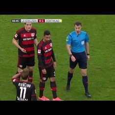 Watch: Referee walks off in protest at a Bundesliga game in Germany